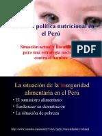 Politica Nutricional