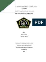 Laporan Resume Kebutuhan Aktivitas Dan Latihan