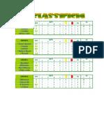 Classifichi di gironi_2^ Giornata