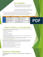 Empresas Certificadoras ISO 9001