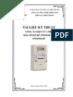Công Tơ Điện Tử DT01P-RF