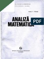 Analiză Matematică (Craiu&Tănase)