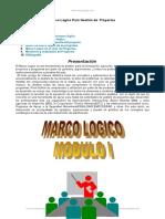 Marco Logico Gestion Proyectos