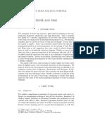 Kuhn & Portner (2002) Tense and Time