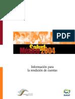 Salud Mexico 2004 Rendicion Cuentas