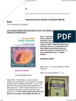 Gall Bladder Cleanse Process Based on Andreas Moritz Book _ Prof Prabhat Ranjan's Blog