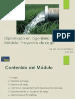 Mòdulo Proyectos de Riego 2016