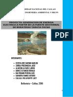 Proyecto Energía Geotérmica Borateras 2016