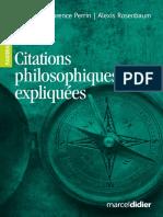1668 Extrait - Citations Philosophiques Expliquees