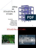 Modelling Building Frame With Staadpro n Etabsrahul Leslie090815 151231065653