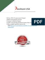 Pass4sure 300-115 Braindumps