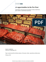 EU Meat Export Opportunities to the Far East, Working Paper, Available at SSRN