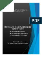 Propiedades de los Materiales de Construcción - Axel Martinez Nieto