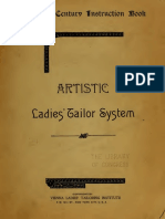 20th Century Instruction Book Artistic Ladies Tailor Systems