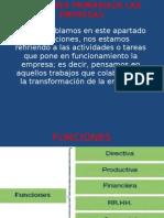 Funciones Primariade Las Empresas