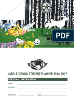 MS Student Planner SY1617