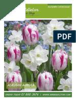 Mr.Middleton Autumn Bulbs Catalogue