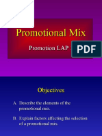 Powerpoint on Promotional Mix