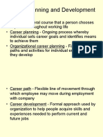 HRM 9 - Career Plg and Devt