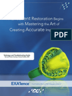 An Excellent Restoration Begins With Mastering the Art of Creating Accurate Impressions