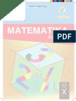 Kelas X Matematika BG 2016