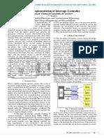 VHDL Implementation of Interrupt Controller