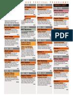 2016 Open Book programme