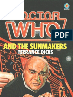 Dr. Who - The Fourth Doctor 60 - Doctor Who and the Sunmakers