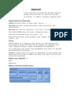 Hadoop Note(HDFS,MapReduce)