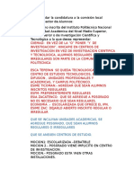 Discusion Perfil Alumnos
