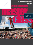 Malmo Festival and Event Management Masterclass