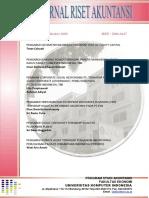 Jurnal Riset Akuntansi - Vol I_No.1_Oktober 2009_Dian DK Dan Sri Restu_2