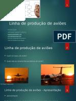 Estudo de Caso - Linha de produção de aviões - Dinâmica para Metodologias Ágeis
