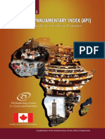 API African Parliamentary Index