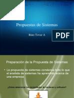 Propuestas de Sistemas