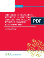 Trend of Legal Suits