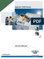 Konica Minolta QMS Magicolor 2300 Service Manual