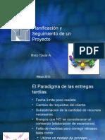 Planificación de un Proyecto de Sistemas