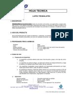 Ficha Tecnica - Latex Teknolatex CPPQ