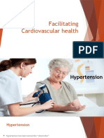 Facilitating Cardiovascular Health in elderly