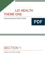 Liberal Studies Public Health notes