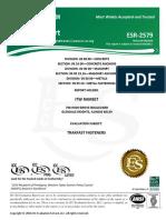 Ramset ESR 2579