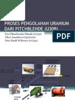 PBG Pengolahan Uranium