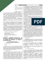 RESOLUCIÓN DIRECTORAL  Nº 0028-2016-MINAGRI-SENASA-DSV