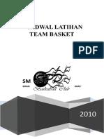 Struktur Organisasi Basket