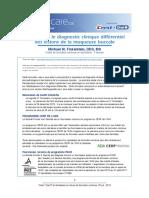 Guide pour le diagnostic clinique différentiel  des lésions de la muqueuse buccal