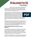 Dell VMDataProtection V011