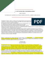 ANDERSON Perry -Historia y Lecciones Del Neoliberalismo
