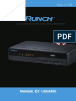 Manual de Usuario RUNCH DTT1900