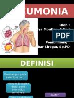 Ppt Referat Pneumonia